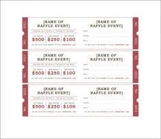 raffle ticket templates 12 raffle pinterest ticket template movie tickets and template