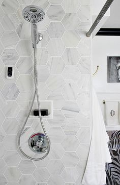 Complete source list for black, white, gold, and marble bathroom makeover