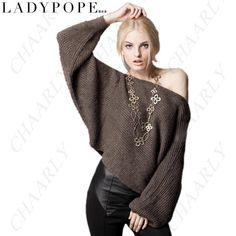 http://www.chaarly.com/sweatshirts-hoodies/70842-ladypope-bevelled-shoulder-pullover-sweater-knitwear-knitting-shirt-with-bat-wing-sleeve-for-women-girls.html