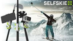 SELFSKIE | Attach Your Smartphone Or GoPro® To Any Stick by Teun, Sam, Otto & Emelie —Kickstarter