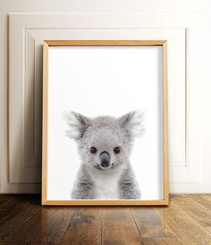 Koala print PRINTABLE art Nursery animals Animal prints