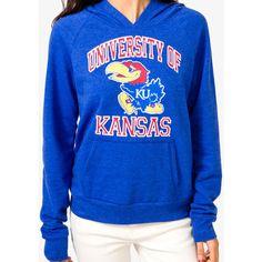 University of Kansas Jayhawk® Hoodie ($25) ❤ liked on Polyvore
