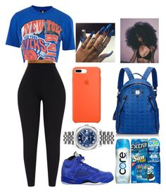 """My love"" by sanaahemphill on Polyvore featuring Unk, NIKE, Rolex and MCM"