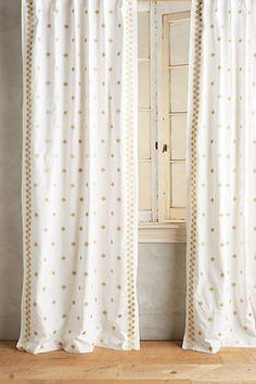 Hallina Diamonds Curtain #anthropologie