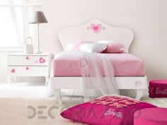#kidsroom #furniture #kids #children #design #style #interior #girls комплект в детскую Doimo Cityline LA CAMERETTA DI BARBIE, Dc54