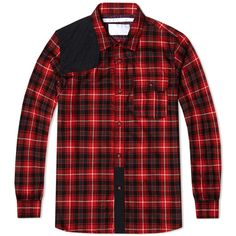 White Mountaineering Hunting Shirt (Red)