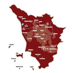 Licata Vini - Informatie streek Toscana