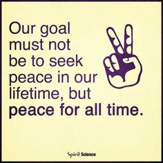 #Peace #Quotes