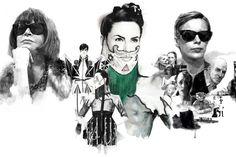 Fashion and portrait illustrator Berto Martinez