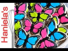 How To Decorate Butterfly Cookies, Simple Cookie Decorating for Beginners