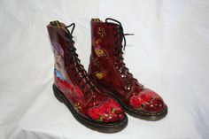 Day of the Dead them Doc Martens