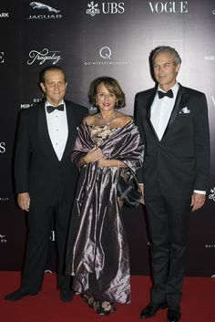 Tony Custer, Ana Guiulfo y Christian Duerr