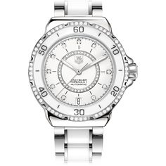 Want to have one.. in the future.. TAG Heuer TAG Heuer FORMULA 1 Steel and Ceramic DiamondsAutomatic watch37 mm