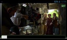 On the set of maleficent-sleeping beauty