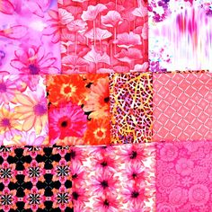 "A pack of 10 assorted half yards of beautiful pinks.  $30 while they last through 7/2 with Free Shipping! And, get a 5 yard piece of 1/4"" elastic for mask making FREE with your Stash Builder or any $30 order while it lasts!Hootsuite Michael Miller, Mask Making, Yards, Quilts, Free Shipping, Fabric, How To Make, Pink, Beautiful"