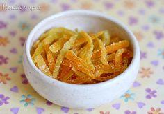 PANELATERAPIA - Blog de Culinária, Gastronomia e Receitas: Casquinha de Laranja Cristalizada