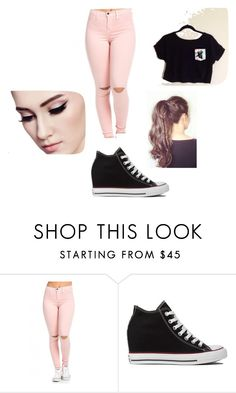 """""""outfit #11"""" by ash-237 on Polyvore featuring Converse"""