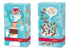 Packaging design by Sanna Mander.