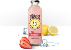 Hubert's Strawberry Lemonade