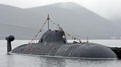 Russian Akula nuclear submarine