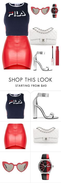 """""""date night outfits"""" by kmdudley ❤ liked on Polyvore featuring Fila, Tom Ford, Chanel, Yves Saint Laurent, Kenzo and Maybelline"""