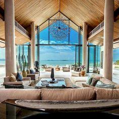 Cozy tropical beach villa design ideas 15