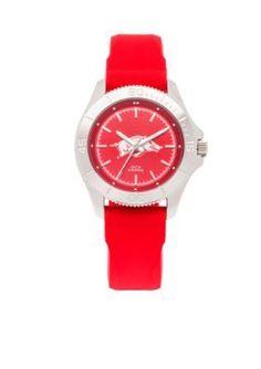 Jack Mason  Womens Arkansas Sport Silicone Strap Watch