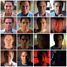 The many faces of Dexter