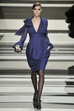 Elie Saab Fall 2008 Ready-to-Wear Fashion Show - Alison Nix (Marilyn)