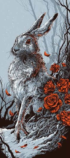 Celebrating the Hare today - ☆ Amazing Illustration Artist :→: Ken Taylor ☆
