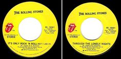 The Rolling Stones / It's Only Rock 'N Roll (1974) / Rolling Stones RS-19301…