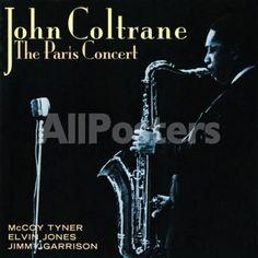 John Coltrane - The Paris Concert People Art Print - 41 x 41 cm