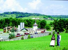 You can't miss the beautiful Guggisberg Cheese factory when you visit Ohio's Amish Country!