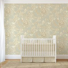 Tivoli Wallpaper Furniture, Fabric Wallpaper, Cole Son, Cribs, Fabrics, Wallpapers, Bedroom, Home Decor, Golden Wallpaper