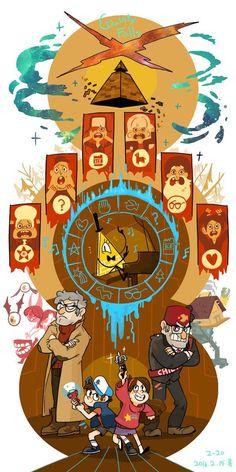 bill cipher must be the founder of the illuminati. All hail the illuminati! Gravity Falls Anime, Gravity Falls Fan Art, Gravity Falls Comics, Gravity Falls Gideon, Gravity Falls Bill Cipher, Dipper E Mabel, 6 Chakra, Gavity Falls, Bd Art