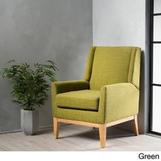 Aurla Mid-Century Fabric Accent Chair by Christopher Knight Home - Free Shipping Today - Overstock.com - 19621986 - Mobile
