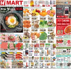 H Mart Weekly Ad January 8 - 14, 2016 - http://www.olcatalog.com/h-mart/h-mart-weekly-ad.html