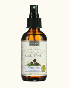 Try this truly pure face toner which contains 100% of certified organic ingredients. Use it for skin toning, as a refreshing mist or aftershave splash. Let powe