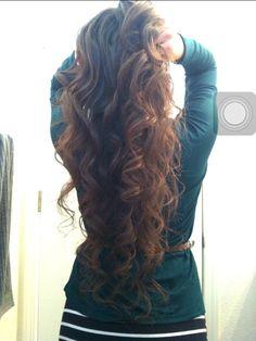 Messy cute Curls