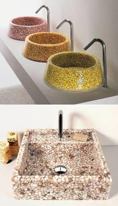 Pebble Sink