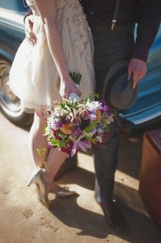 flowers & hat