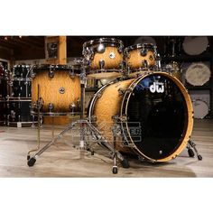 Drum Kits, Percussion, The Collector, Drums, Pure Products, Portsmouth, Curly, Black, Unique