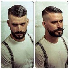 Golden Oldie... High razor fade with beard trim... Green @reuzel pomade for shine... #schorem #scumbag #reuzelpomade #goldenoldie#fashionfadesstyleisforever#theancientwayofthescumbag