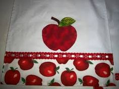 Resultado de imagem para caminho de mesa em ponto cruz de maçã