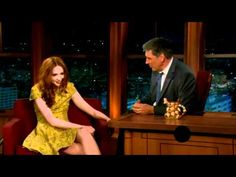 "Karen Gillan's appearance on CBS' ""Late Late Show with Craig Ferguson""..."