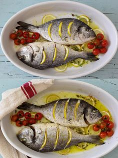 Fish Recipes, Healthy Recipes, Fish Dishes, Ratatouille, Food Inspiration, Seafood, Food And Drink, Cooking, Ethnic Recipes