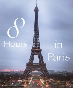 ONE DAY IN PARIS – THINGS TO DO
