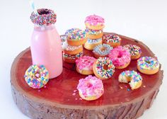 MINI CAKE DONUTS (WHY NOT) // BY Katherine Sabbath *drool*