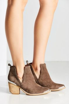 Jeffrey Campbell Cromwell Western Cutout Ankle Boot