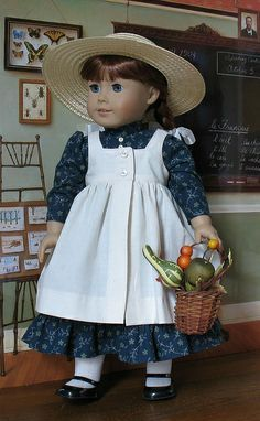 Anne of Green Gables Outfit by Sugarloaf Doll Clothes, via Flickr